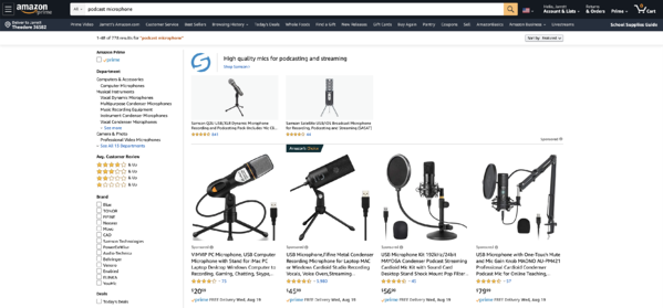 Amazon-podcast-microphone